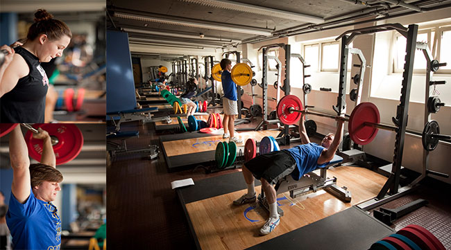Student Life - Fitness Centers