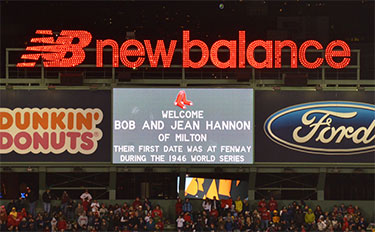 Hannon '47 Found Love at 1946 Red Sox-Cardinals World Series