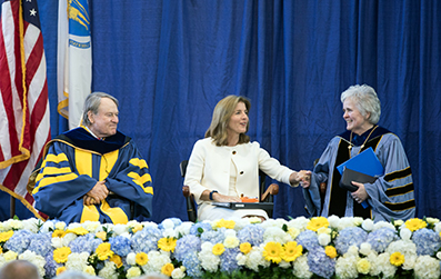 Kennedy Advocates for Engaged Citizenship at Centennial Academic Convocation